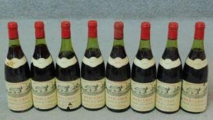 Eight bottles of 1977 Burgundy, Mercurey, domaine de la Monette.