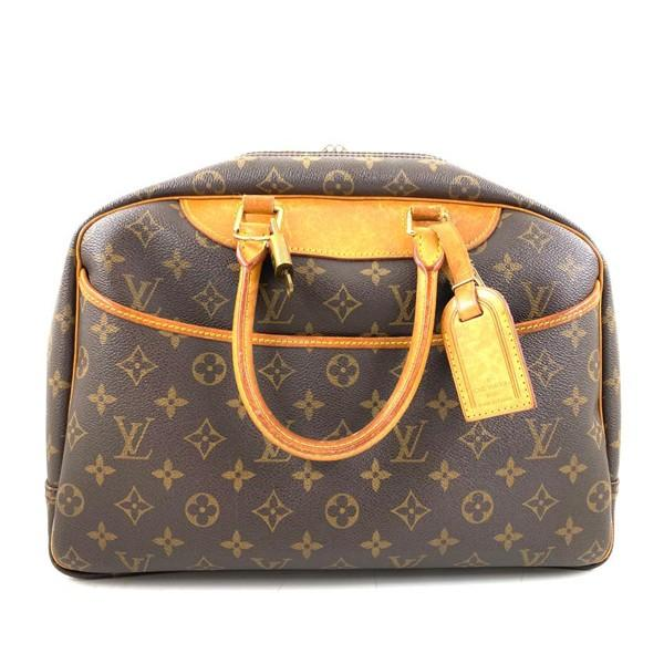 A Louis Vuitton Deauville Cosmetic Bag Monogram Canvas, featuring the LV monogram coated canvas - Image 5 of 6