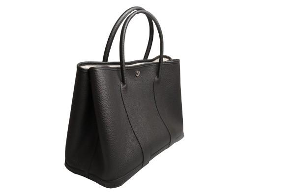 A Hermes Garden Party in black calf with palladium hardware, W.36cm x H.24cm x D.17cm, stamped N/A. - Image 3 of 11