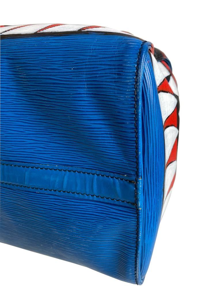 A Louis Vuitton Keepall 45 in Toledo Blue is the smallest version of the Louis Vuitton travel bag - Image 9 of 9
