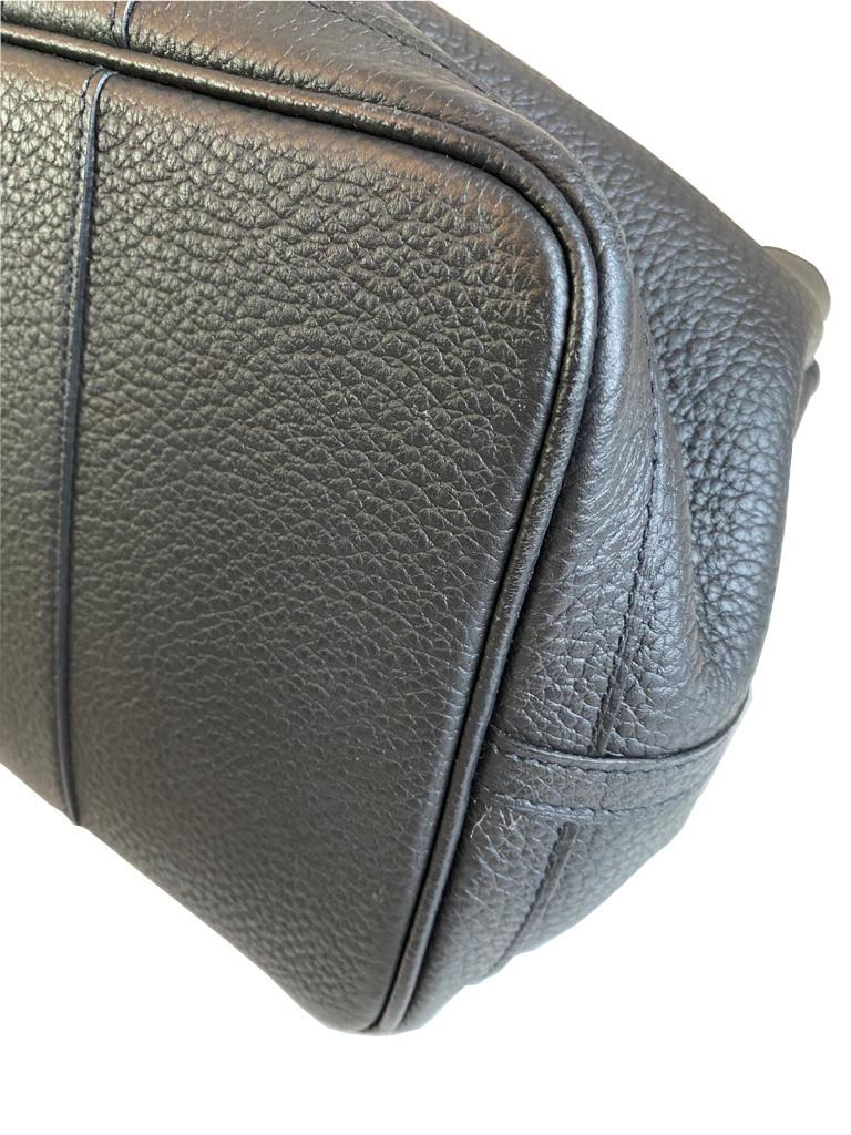 A Hermes Garden Party in black calf with palladium hardware, W.36cm x H.24cm x D.17cm, stamped N/A. - Image 5 of 11