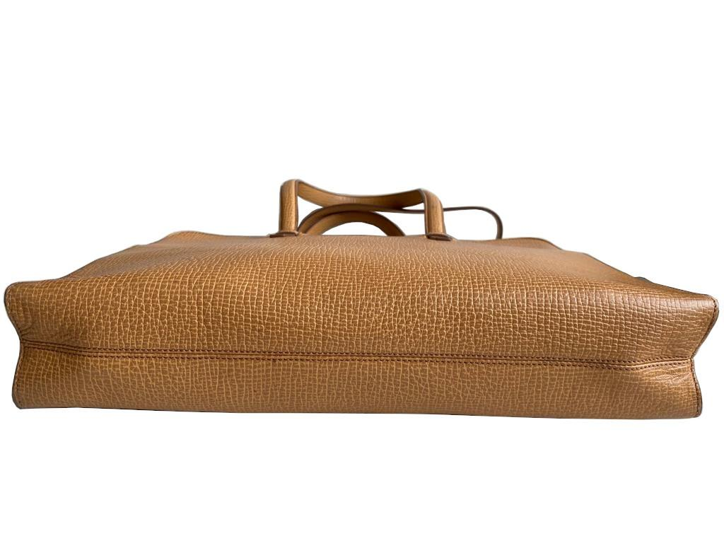 A Loewe Briefcase Handbag with Gold Hardware, might have been worn just once or twice. It's a very - Image 5 of 9
