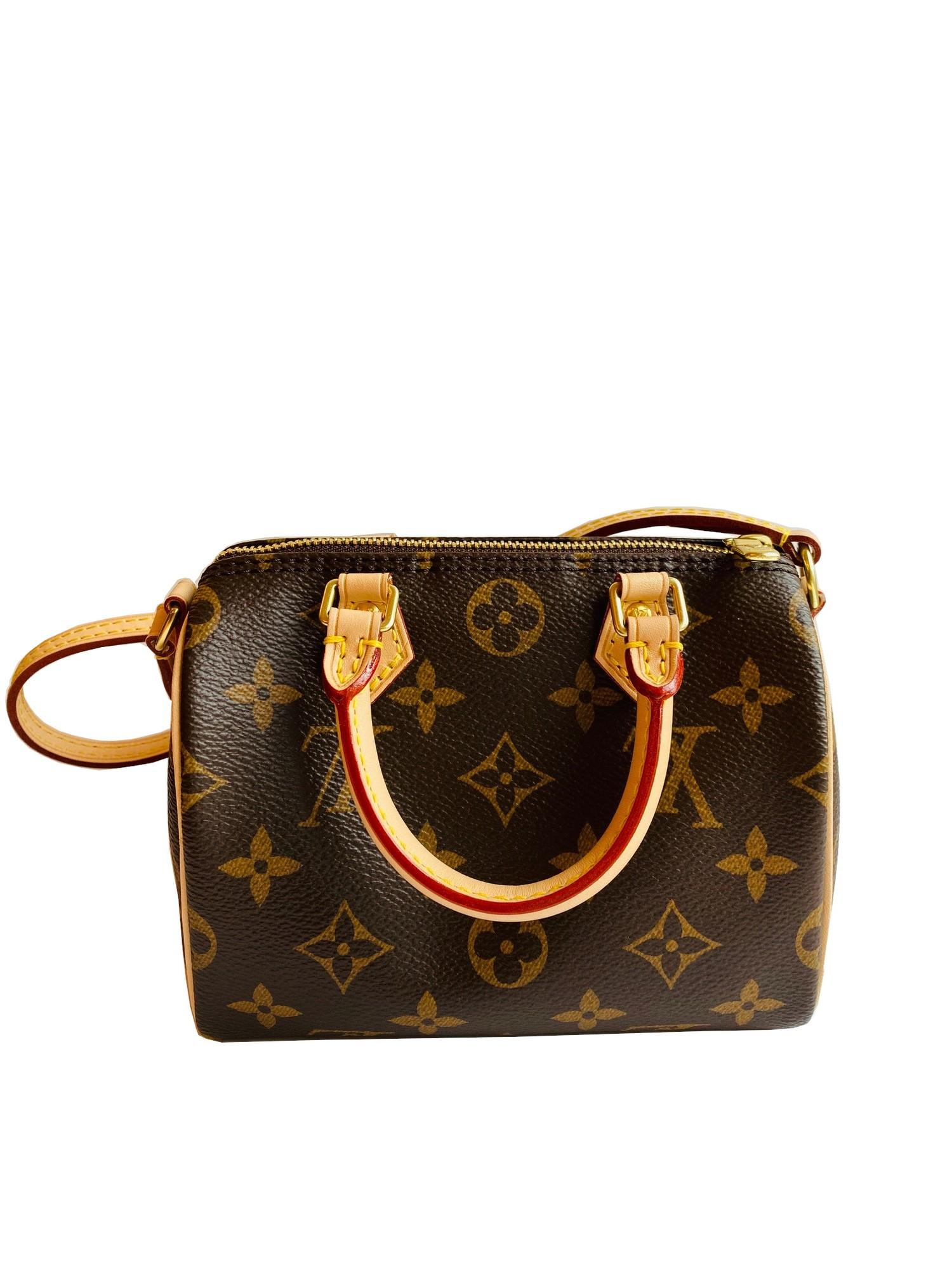 A Louis Vuitton Nano Speedy Monogram Canvas, as the name suggests the Nano Speedy is a miniature - Image 2 of 4