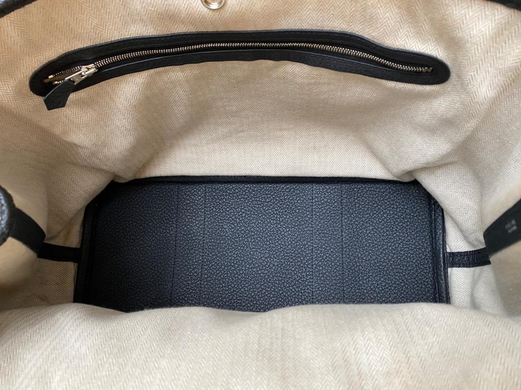 A Hermes Garden Party in black calf with palladium hardware, W.36cm x H.24cm x D.17cm, stamped N/A. - Image 7 of 11
