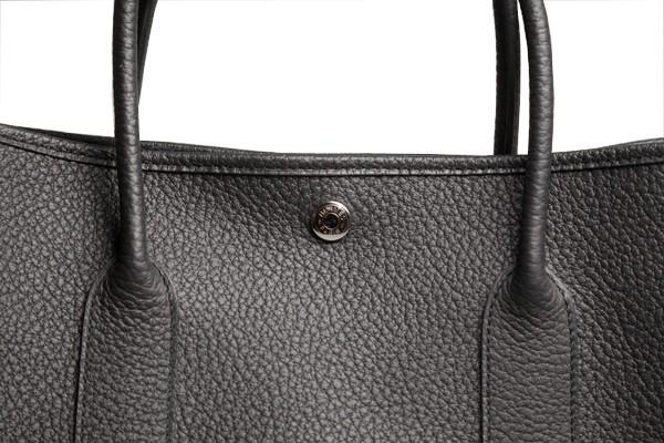 A Hermes Garden Party in black calf with palladium hardware, W.36cm x H.24cm x D.17cm, stamped N/A. - Image 8 of 11