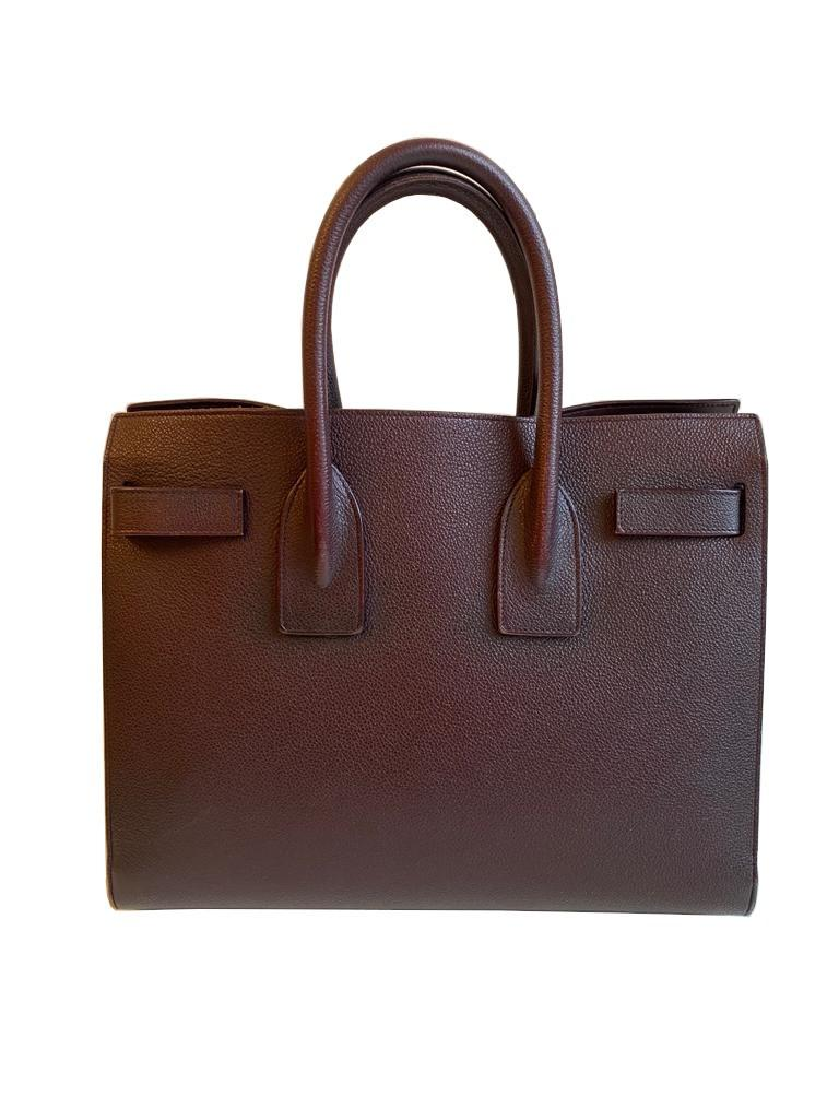 A Saint Laurent Sac De Jour Ox Blood Calf is occasionally considered to be a pale imitation of an - Image 2 of 9