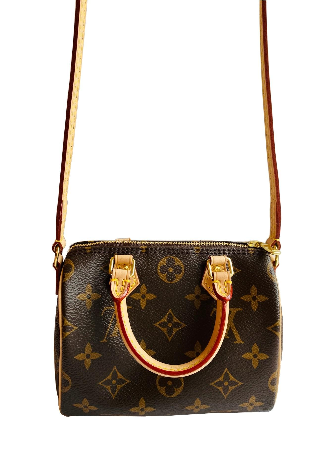 A Louis Vuitton Nano Speedy Monogram Canvas, as the name suggests the Nano Speedy is a miniature - Image 4 of 4