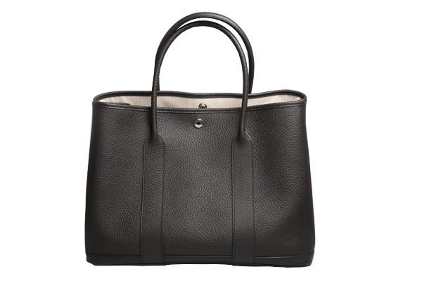 A Hermes Garden Party in black calf with palladium hardware, W.36cm x H.24cm x D.17cm, stamped N/A. - Image 4 of 11