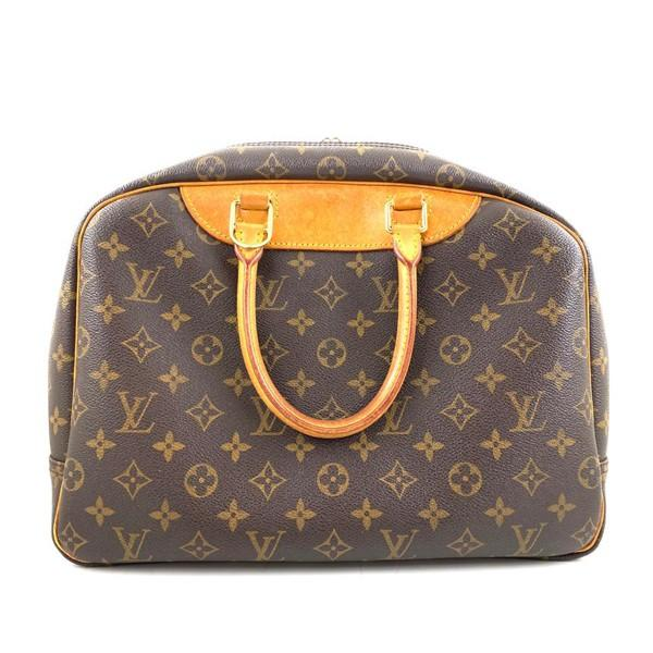 A Louis Vuitton Deauville Cosmetic Bag Monogram Canvas, featuring the LV monogram coated canvas - Image 3 of 6