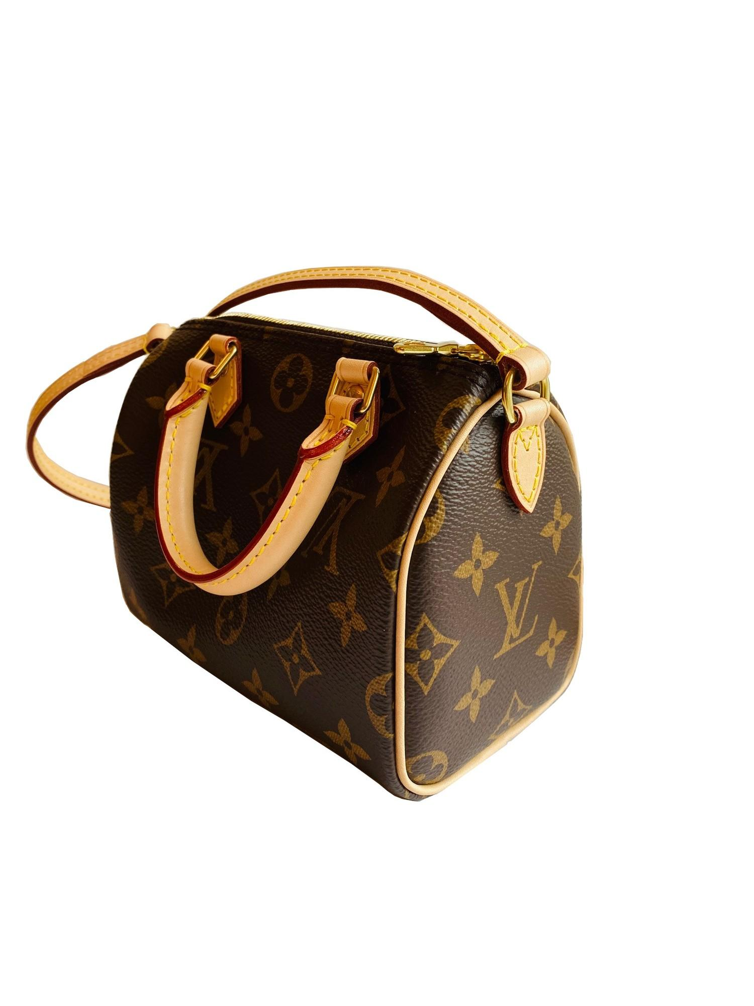 A Louis Vuitton Nano Speedy Monogram Canvas, as the name suggests the Nano Speedy is a miniature - Image 3 of 4