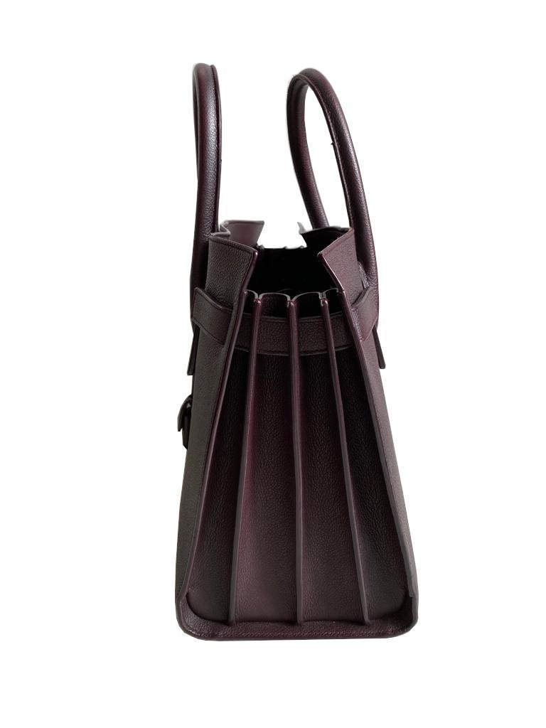 A Saint Laurent Sac De Jour Ox Blood Calf is occasionally considered to be a pale imitation of an - Image 7 of 9