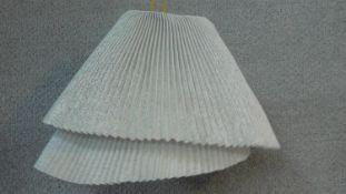 A Tempo Vivace TEVI04 design metal mesh light shade by designer Arturo Alvarez. H.28 W.42 D.42cm