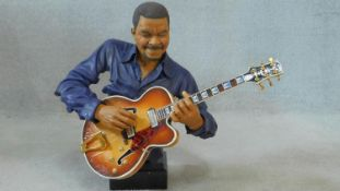 A Willits Design head and bust figure from the All That Jazz series, Jamming, number 975 from a