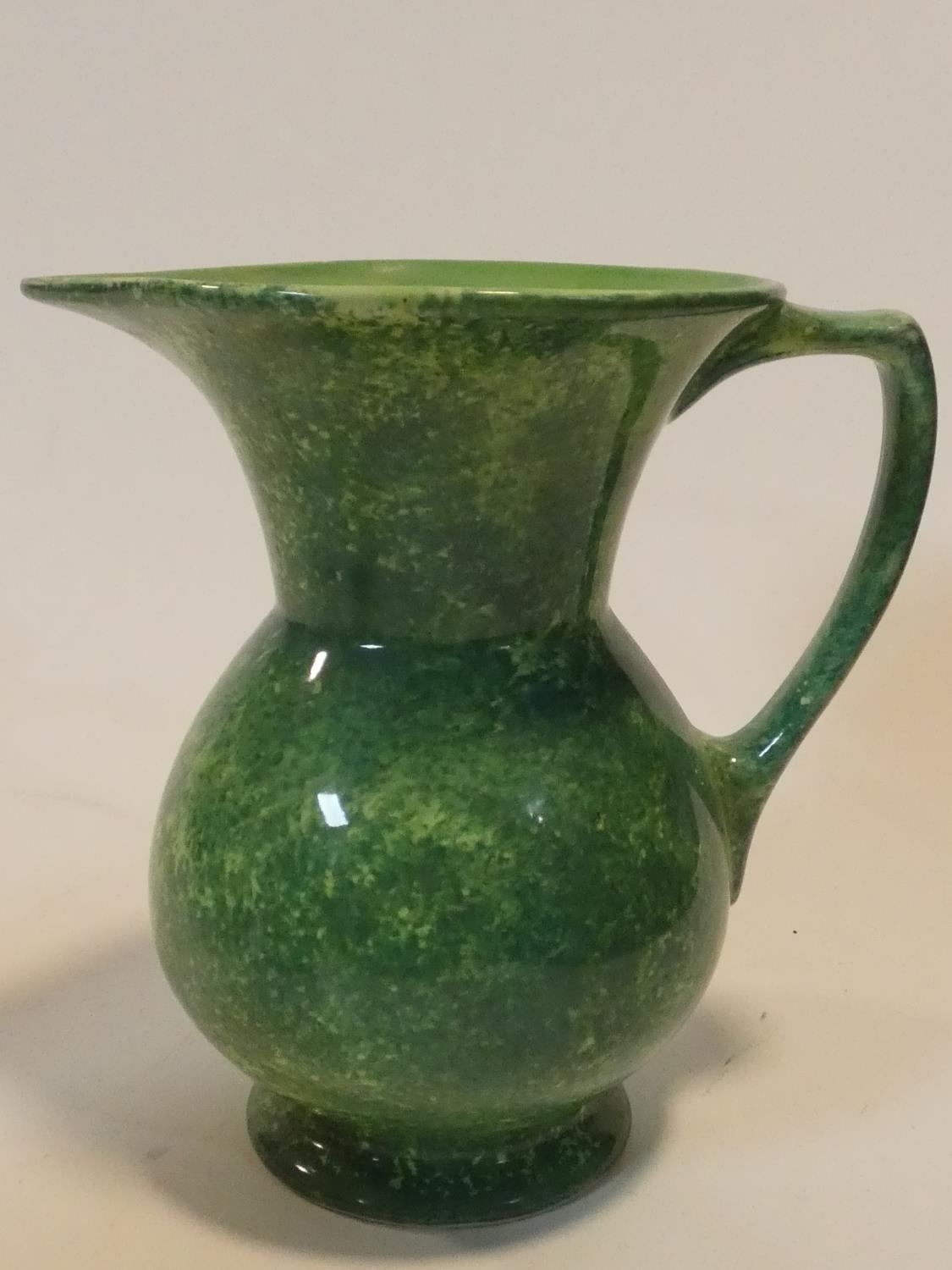A miscellaneous collection of various Art Pottery jugs and vases. H.20cm (tallest) - Image 24 of 26