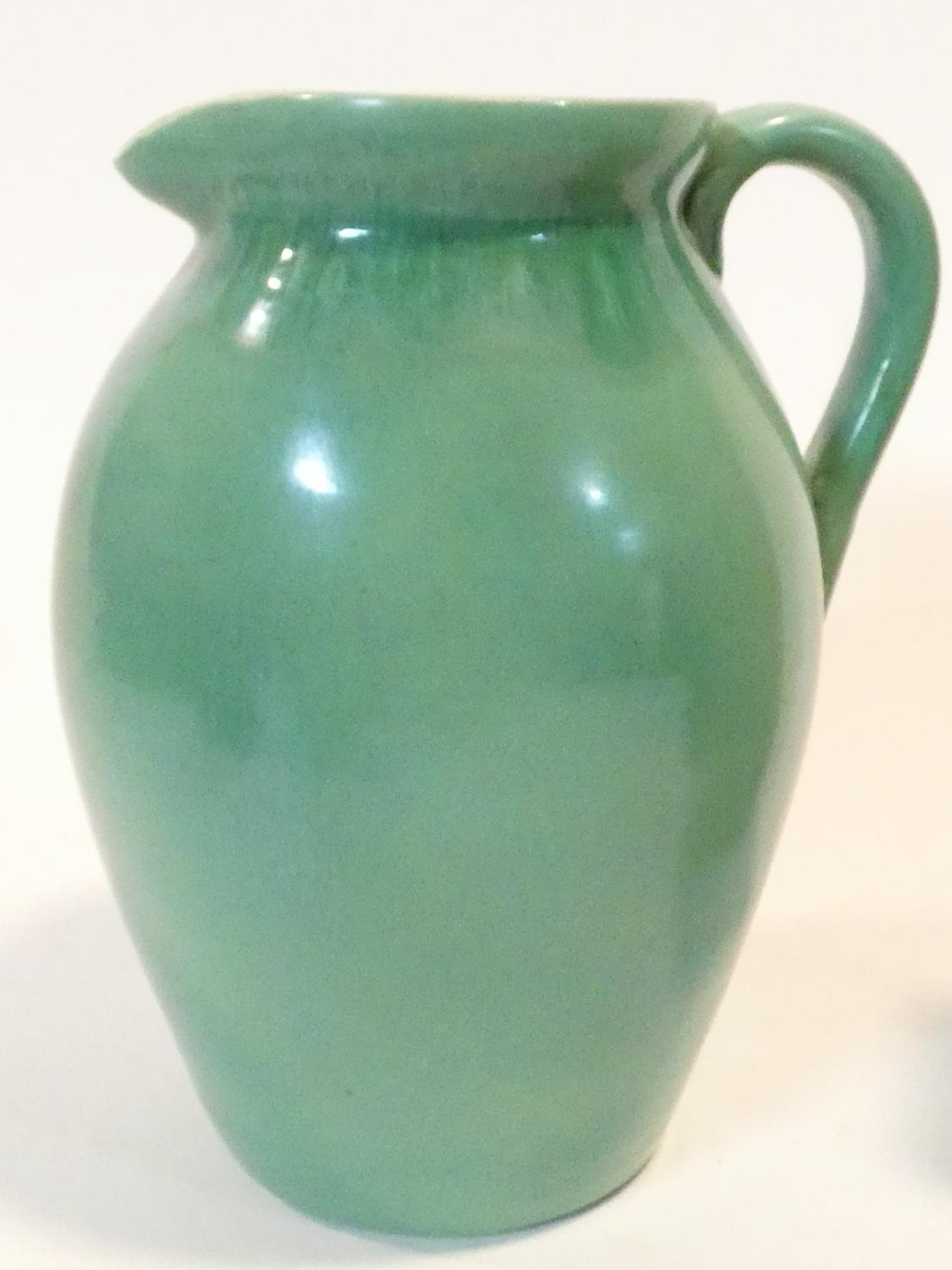 A miscellaneous collection of various Art Pottery jugs and vases. H.20cm (tallest) - Image 12 of 26