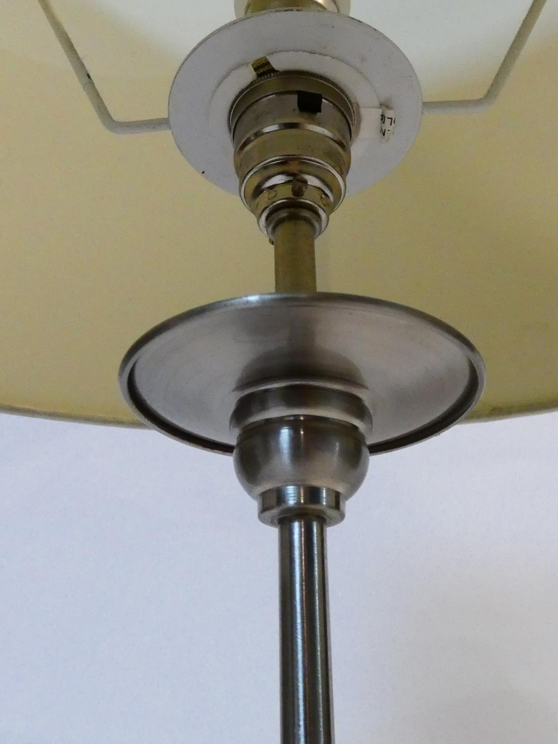 A pair of contemporary table lamps and their shades and a similar pair. H.59cm - Image 5 of 12