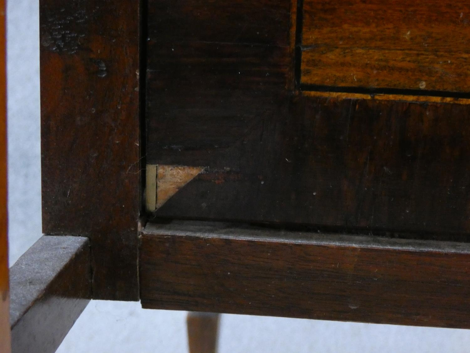 An Edwardian fitted mahogany record cabinet. H.70 W.52 D.52cm - Image 7 of 18