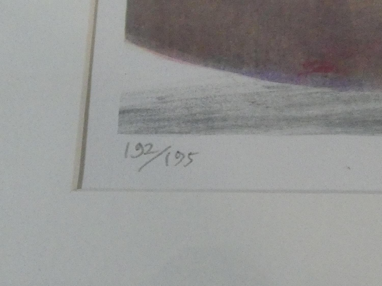 A framed and glazed signed coloured lithograph by British artist and illustrator Glynn Boyd - Image 3 of 6