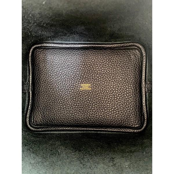 A black Hermes Picotin 18cm in clemence leather with gold hardware. Includes Box, Dustbag & Receipt, - Image 3 of 5