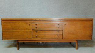 A mid century Robert Heritage designed rosewood Granville range sideboard for Archie Shine, Sloane
