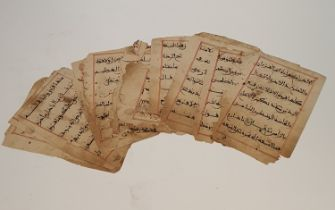 Maghrabi Quran pages with calligraphy, Persian (25) H.20x14cm