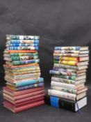 A collection of forty vintage books to include children's adventure stories, a selection of 50's