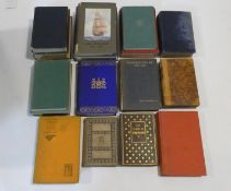 A collection of sixteen vintage and antique books. Including Poems of Wordsworth, H.M.S.
