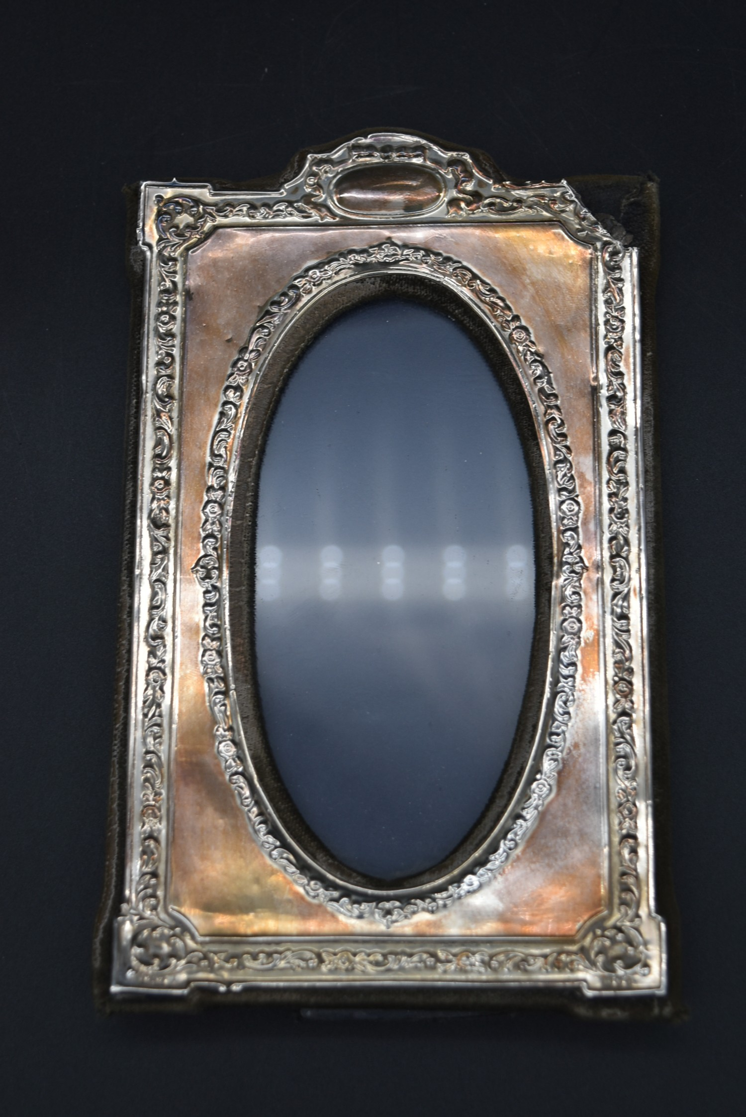 A miscellaneous collection of silver framed easel mirrors, various English hallmarks. H.20cm W. - Image 9 of 13