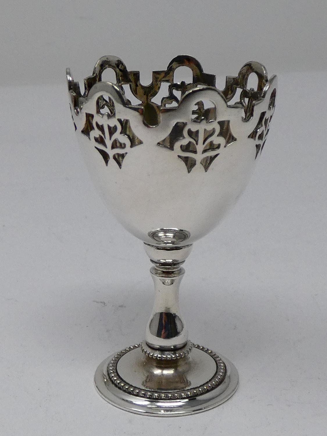 A collection of silver plated items; a hot water jug, trophy cups, card tray and hand mirrors (one - Image 17 of 23
