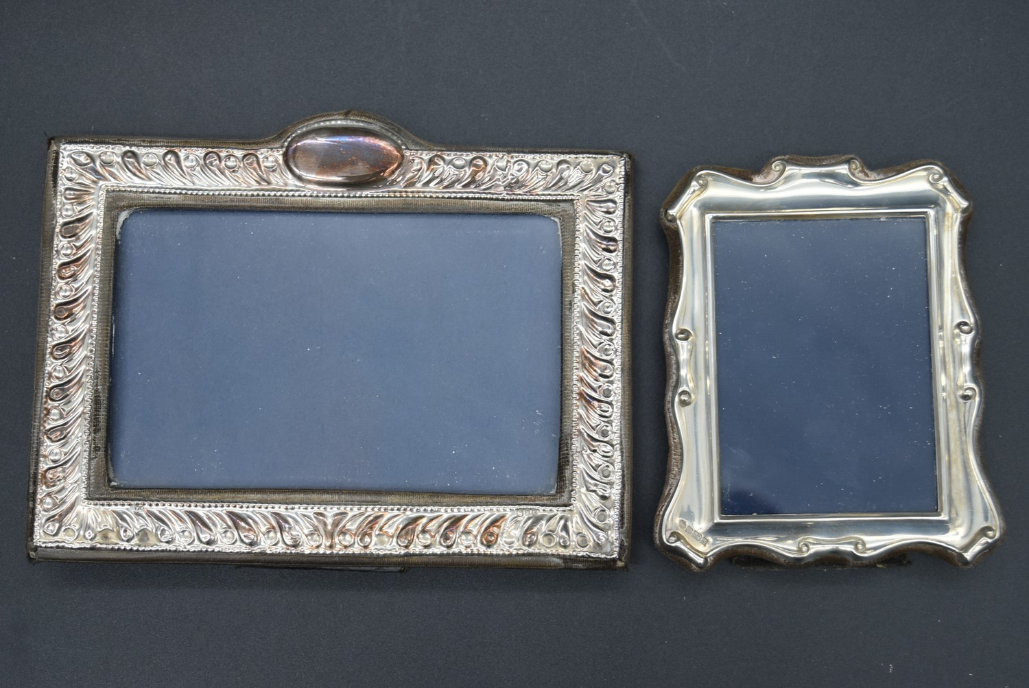 A miscellaneous collection of silver framed easel mirrors, various English hallmarks. H.20cm W. - Image 5 of 13