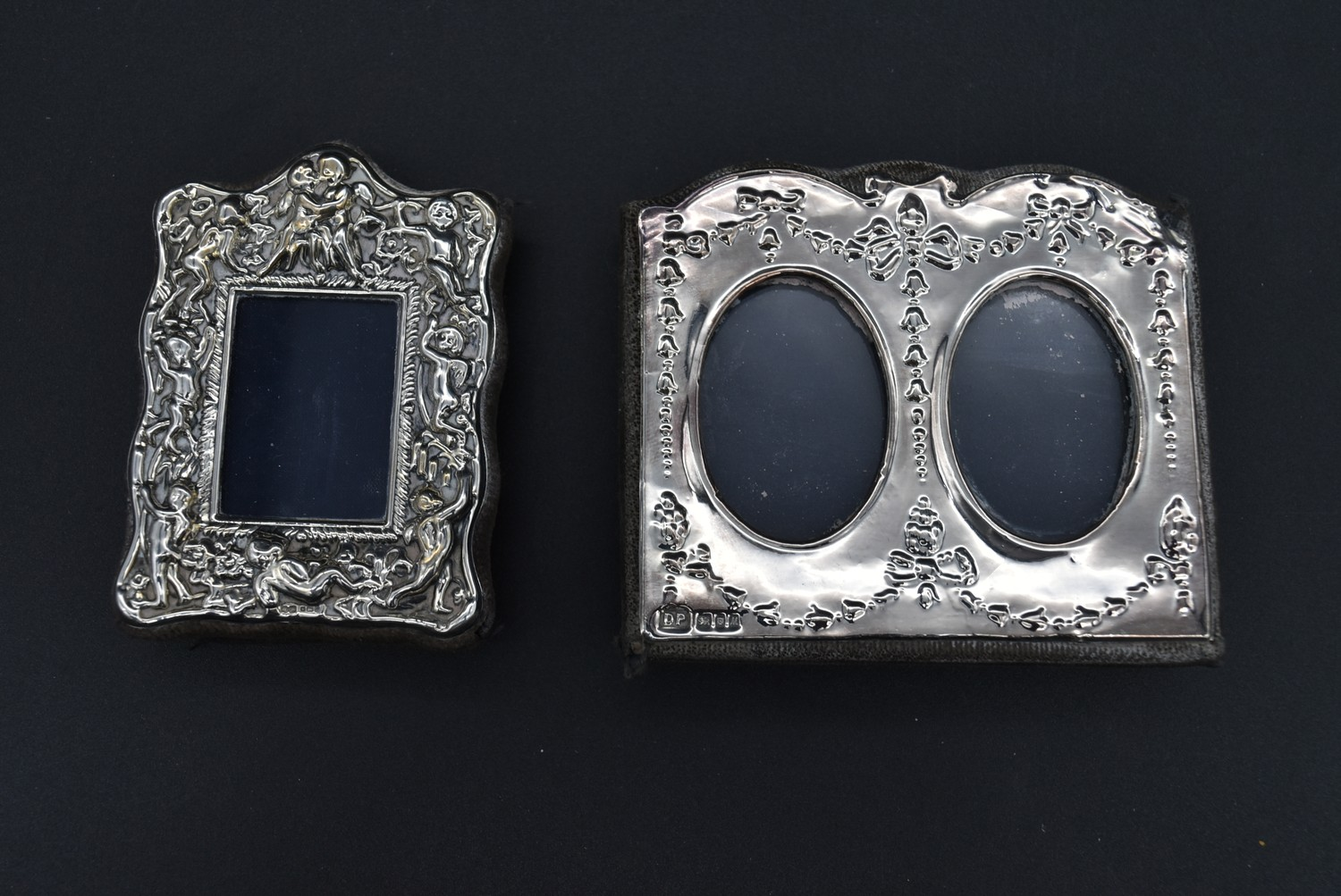 A miscellaneous collection of silver framed easel mirrors, various English hallmarks. H.20cm W. - Image 2 of 13