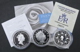 A Royal Mint 1993 UK Coronation 40th Anniversary Silver Proof £5 Crown with COA, Royal Mint United
