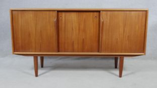 Axel Christensen for ACO Mobler, a mid century teak sideboard with makers stamp to back. H.80 W.