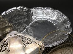 An extensive collection of miscellaneous silver plate.