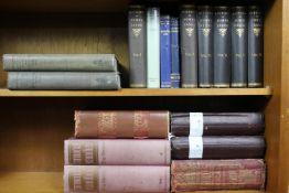 A collection of seventeen antiquarian genealogy, heraldic and history books. Including the full