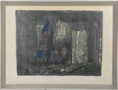 John Piper, a signed limited edition etching 36/70, untitled, signed. H.66 W.87cm