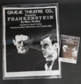 Peter Blake (b.1932) unframed lithograph, Poster for Frankenstein by Graeae Theatre Co, 43/300,