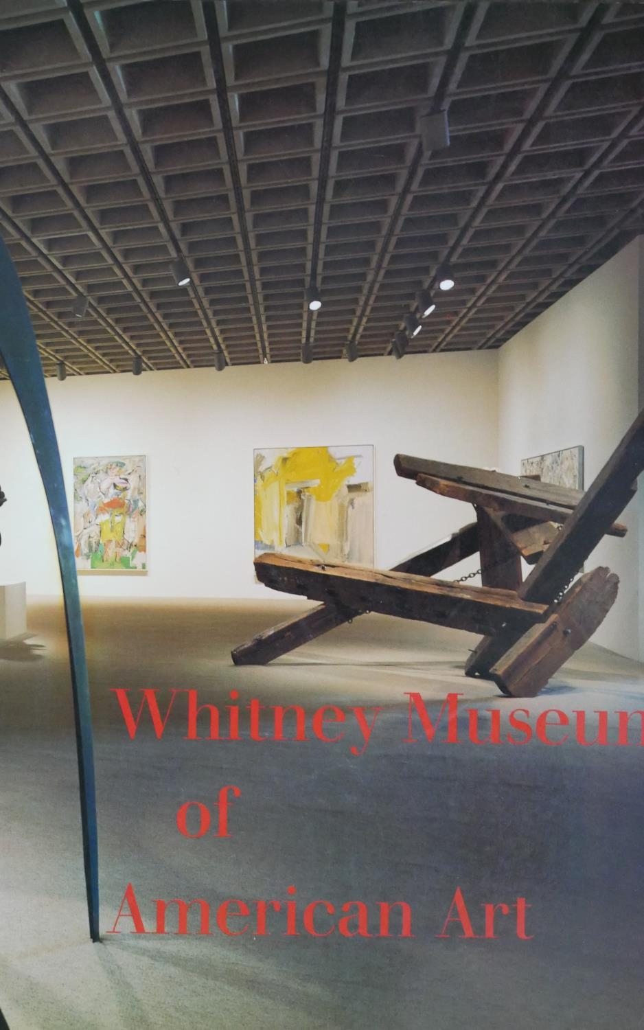 A collection of thirty five Art and Sculpture books and catalogues including: Whitney Museum of - Image 7 of 10