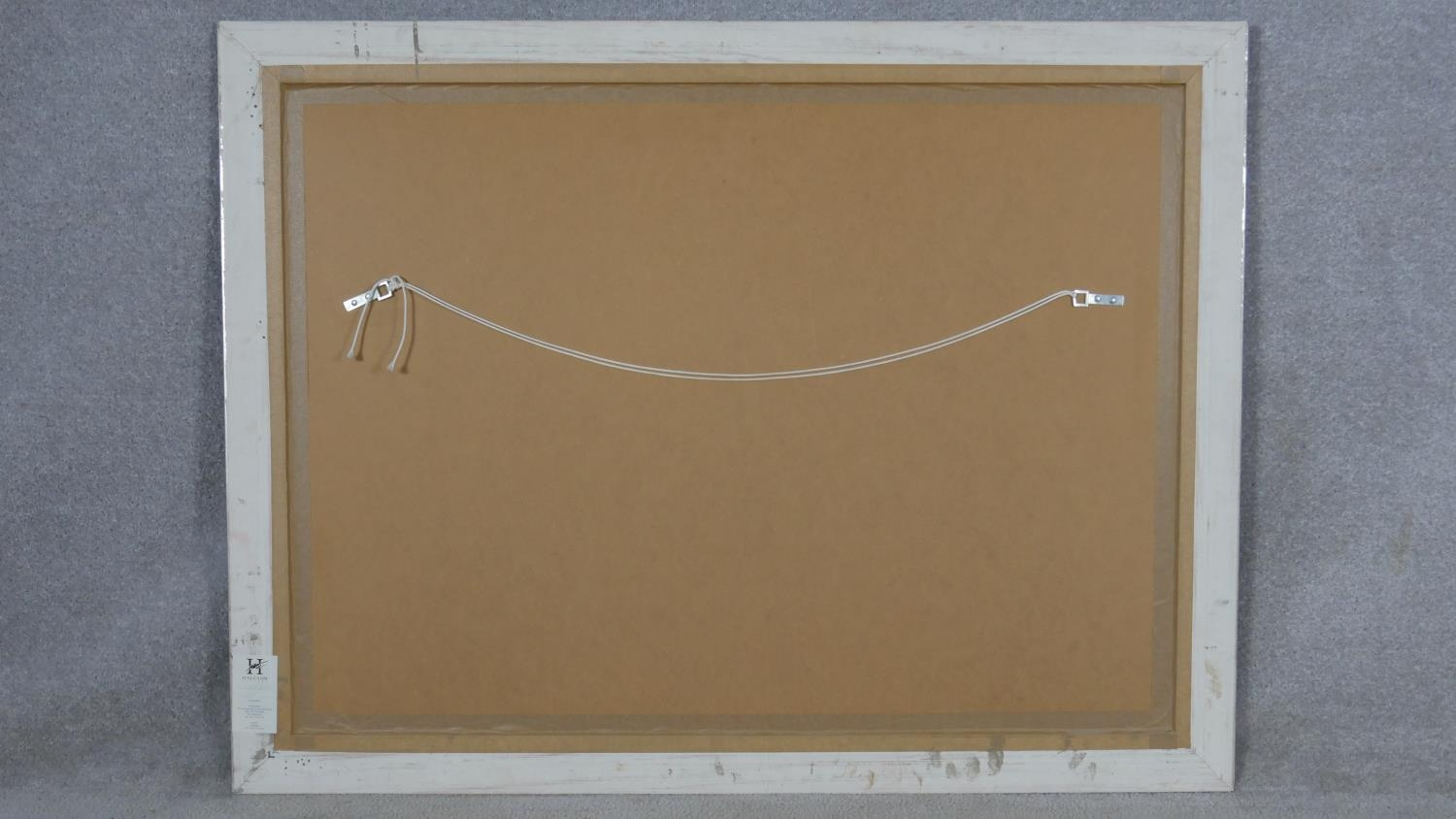 Robert Heindel, a very large framed and glazed signed Artists Proof silkscreen print with paperwork, - Image 6 of 8