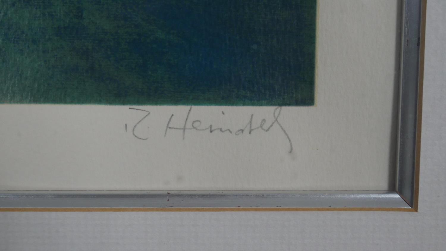 Robert Heindel, a very large framed and glazed signed Artists Proof silkscreen print with paperwork, - Image 3 of 8
