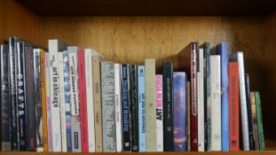 A collection of forty six Art and Design books and catalogues, a mixture of hard back and paperback.
