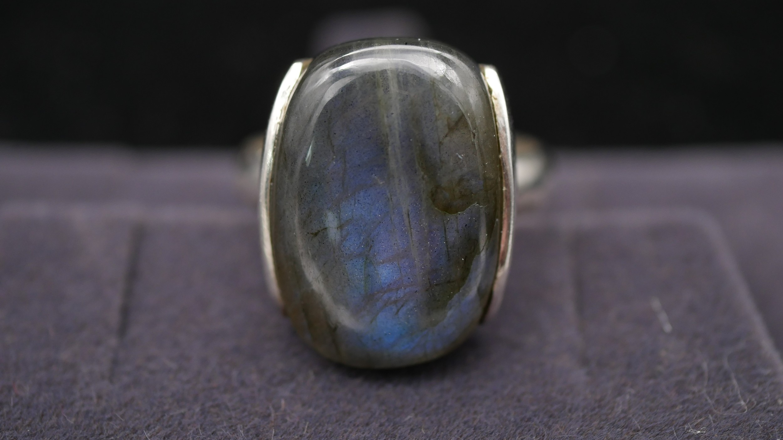 Ten silver gemstone set rings with certificates. To include a kyanite full eternity ring, a - Image 4 of 15