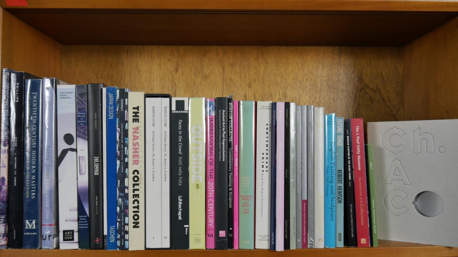 A collection of thirty five Art and Sculpture books and catalogues including: Whitney Museum of