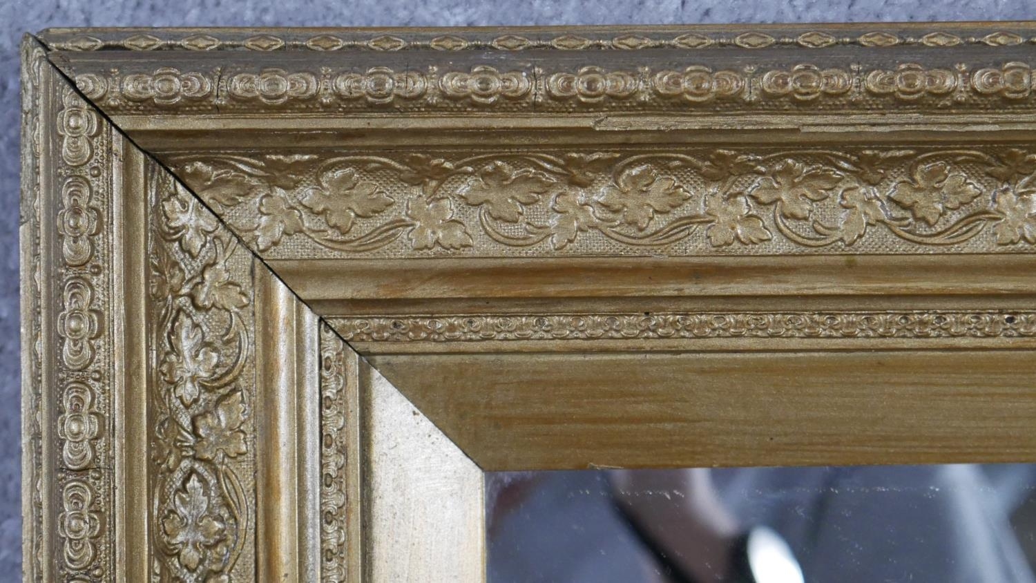 A miscellaneous collection of three gilt wall mirrors. H.83 W.68cm (Largest) - Image 6 of 10