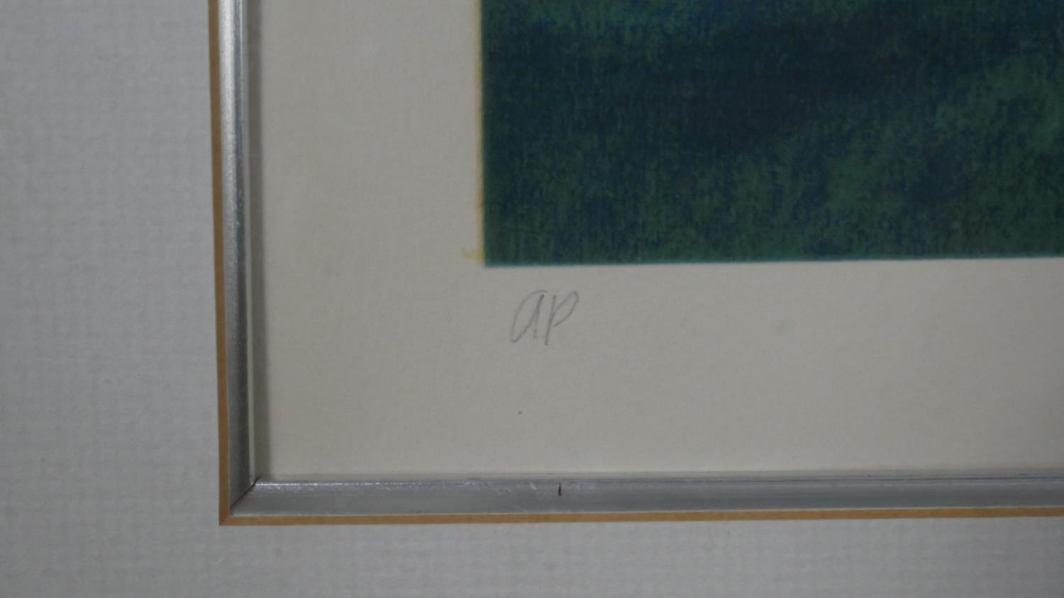 Robert Heindel, a very large framed and glazed signed Artists Proof silkscreen print with paperwork, - Image 4 of 8