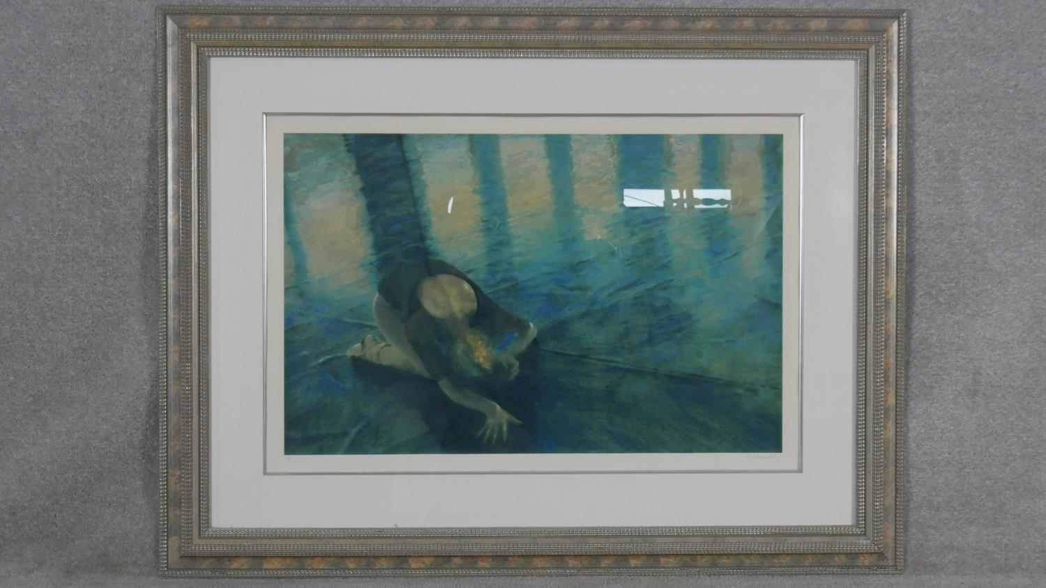 Robert Heindel, a very large framed and glazed signed Artists Proof silkscreen print with paperwork, - Image 2 of 8