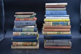 A miscellaneous collection of vintage hardback books. H.26 W.20cm (largest book)