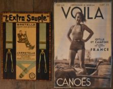 A copy of Voila magazine dated 8th August 1936 in protective plastic wallet along with a vintage