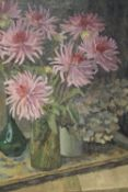 ATTRIBUTED TO HENRI FREDERIC BOOT (1877-1963). Dutch school, impressionist still life study of vases