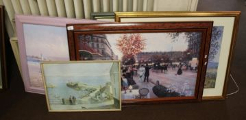 A QUANTITY OF PICTURES AND PRINTS